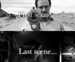 black and white, spoiler, and jesse pinkman image