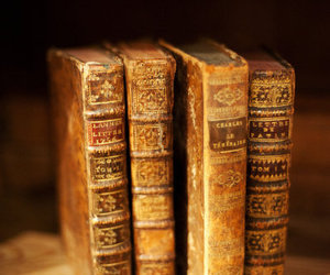 antique, books, and reading image