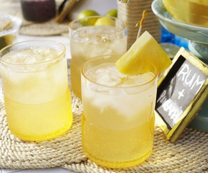 drink, yellow, and summer image