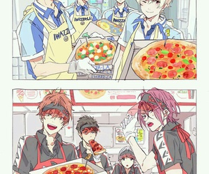free, pizza, and rei image