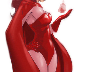 comic, Marvel, and scarlet witch image