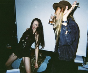 girl, grunge, and party image