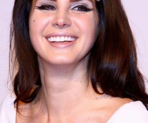 lana del rey, smile, and singer image