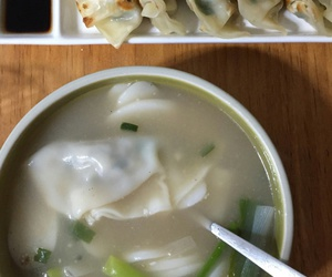 dumpling, food, and korea image