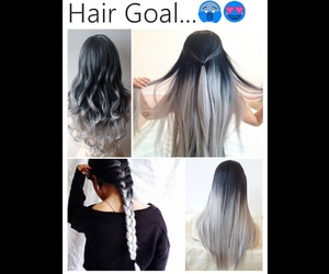 goals, grey, and hair image