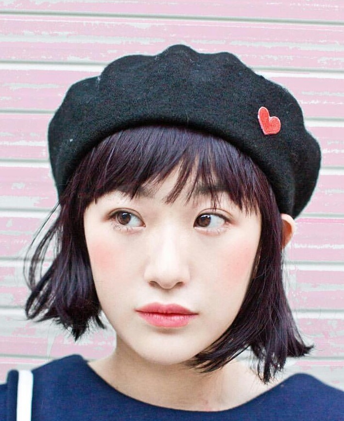 accessories, beret, and makeup image