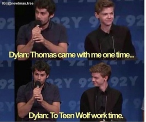 dylan o'brien, newtmas, and dylmas image