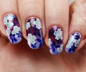 nail art, nail polish, and nails art image