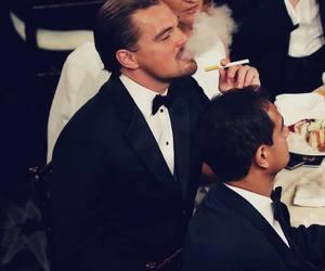leonardo dicaprio and smoke image