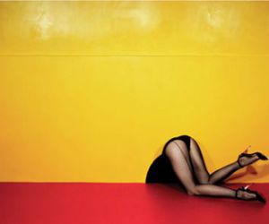 guy bourdin, photography, and legs image
