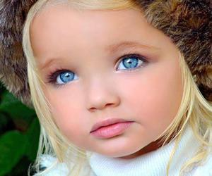 baby, blue eyes, and eyes image
