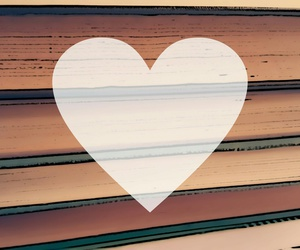 books, Effects, and heart image