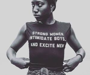woman, feminism, and strong image