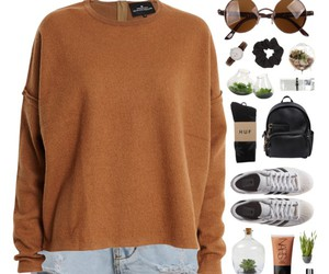 brown, casual, and clothes image