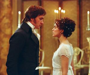 pride and prejudice, jane austen, and mr darcy image