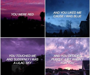 colors, halsey, and Lyrics image