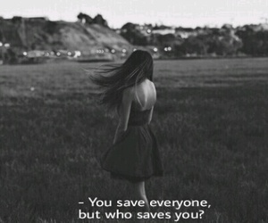 sad, save, and quotes image