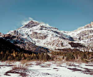 mood, winter, and mountains image