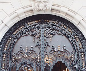architecture, door, and building image