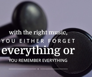 music, forget, and quote image
