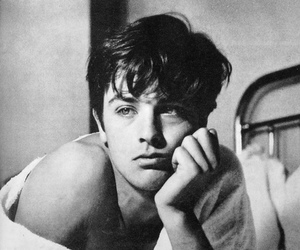 Alain Delon, actor, and boy image