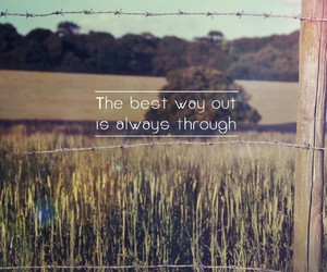 quote, way, and life image