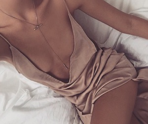 beige, chill, and dress image