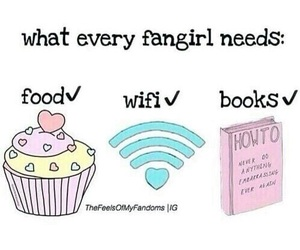 book, food, and wifi image