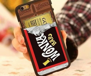 iphone, chocolate, and case image