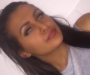 beauty, greeneyes, and lips image