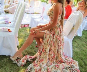 dress, spring, and style image