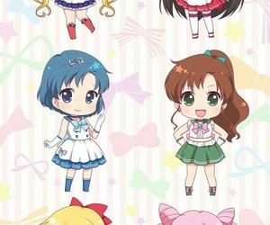 sailor moon, anime, and chibi image