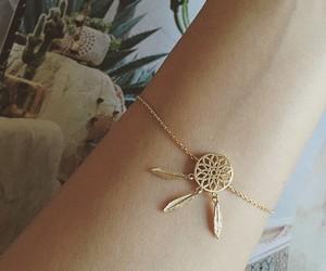 bracelet, beautiful, and dreamcatcher image