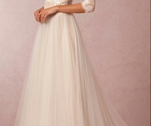 beautiful, girl, and bride image