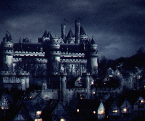 castle, Darkness, and gothic image