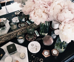 flowers, chanel, and chic image
