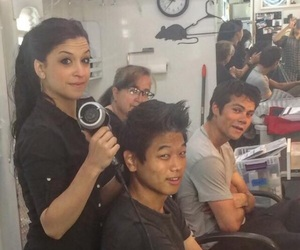 thomas, the maze runner, and bts image