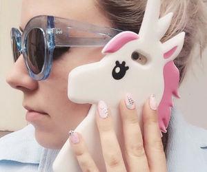 unicorn, iphone, and case image