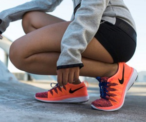 exercise, fitness, and nike image