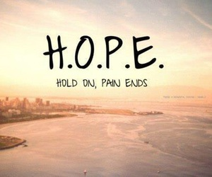 ends, hope, and pain image