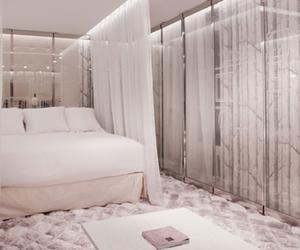 bedroom, bonjour, and hotel image