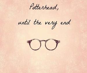 harry potter, potterhead, and glasses image