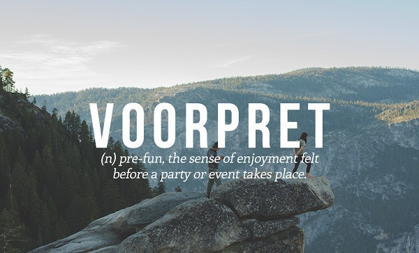 words, dutch, and voorpret image