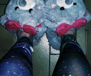 pyjama, chaussons, and legging galaxy image