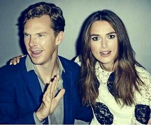 benedict cumberbatch, keira knightley, and actor image