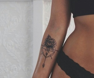 arm, ink, and compass image