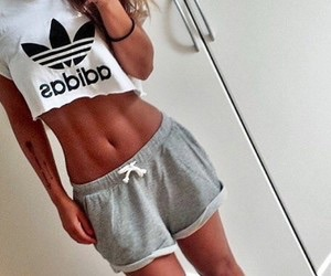 body, adidas, and goals image