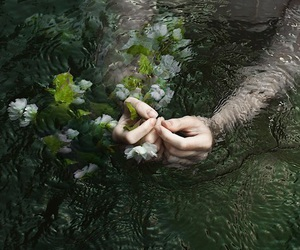 'indie', 'hands', and 'green' image