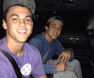 grayson dolan, dolan twins, and ethan dolan image