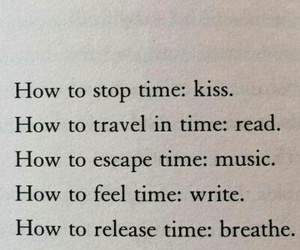 breathe, read, and time image